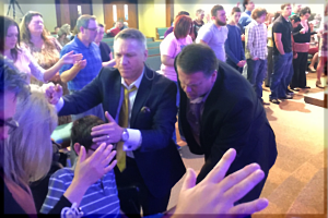 A mighty move of God is taking place in the lives of everybody attending our revival services!