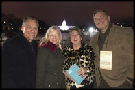 After a long Inauguration Day, full of productive activity we stopped for a picture in front of the US Capital.